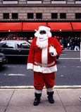 Father Christmas on 5th Avenue. Stock Images
