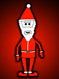 Father Christmas. An image of Father Christmas for the Christmas period Stock Photo