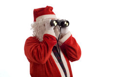 Father Christmas Business Strategy Stock Image