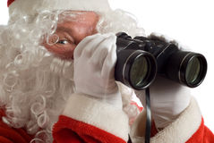 Father Christmas Business Strategy Stock Images