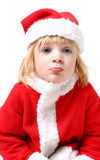 Father christmas child Royalty Free Stock Image