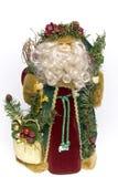 Father christmas doll Stock Photos