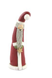 Father Christmas figure isolated Royalty Free Stock Images