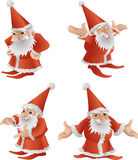 Father Christmas illustration Royalty Free Stock Image
