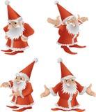 Father Christmas illustration Royalty Free Stock Image