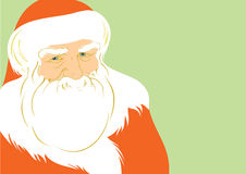 Father Christmas. Illustration of Father Christmas, vector EPS8 is available Royalty Free Stock Photography