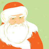 Father Christmas. Illustration of Father Christmas, vector EPS8 is available Royalty Free Stock Image