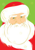 Father Christmas. Illustration of Father Christmas, vector EPS8 is available Royalty Free Stock Images