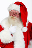 Father christmas portrait Stock Photography