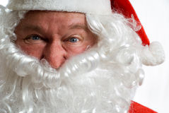 Father Christmas Portrait Stock Images