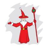 Father Christmas Santa Claus fantasy vector Stock Image
