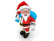 """Father Christmas Santa Claus. """"Father Christmas Santa Claus"""", can be used in business, personal, charitable and educational design projects: it may be used Stock Photos"""