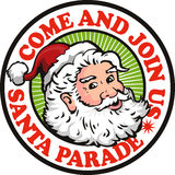 Father Christmas Santa Claus Parade Stock Images