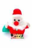 Santa Claus decorative figure royalty free stock photo