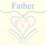 Father. Congratulations  you re going to be a dad Stock Photos