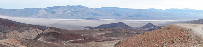 Father Crowley Vista, Death Valley National Park, CA, NV, USA Royalty Free Stock Image