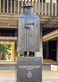 Father Damien Statue. In front of the Honolulu Capitol Building Stock Images