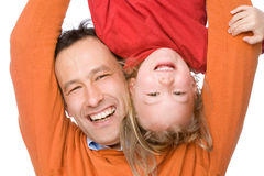 Father with daughter Royalty Free Stock Photography