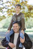 Father and Daughter Royalty Free Stock Photo
