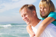 Father daughter Royalty Free Stock Photography