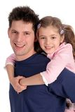 Father and Daughter Royalty Free Stock Photos
