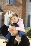 Father and daughter. Stock Images
