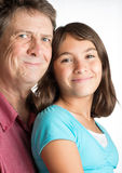 Father and daughter Stock Photography