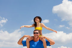 Father and daughter Royalty Free Stock Photography