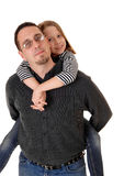 Father with daughter. Royalty Free Stock Images