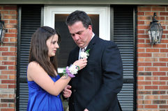 Father-Daughter Dance. Stock Photo