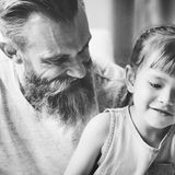 Father Daughter Family Bonding Happiness Concept royalty free stock image