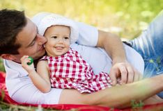 Father and daughter Royalty Free Stock Image
