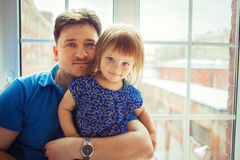 Father with daughter Stock Photography