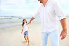 Father daughter love Stock Images