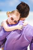 Father and daughter portrait Royalty Free Stock Images