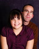 Father Daughter Portrait Stock Photo