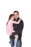 A father and daughter Stock Photography