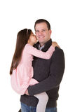 A father and daughter Royalty Free Stock Photos