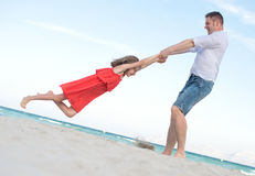Father and daughter. Royalty Free Stock Photography