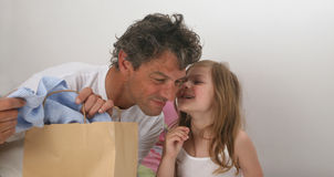 Father and daughter story Royalty Free Stock Photography