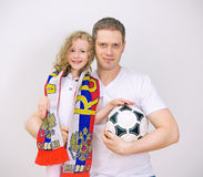Father and daughter. Stock Photography