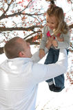Father and Daugther Royalty Free Stock Photos