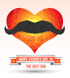 Father day card Stock Images