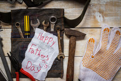 father day card Royalty Free Stock Photography