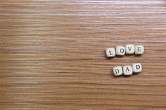 Father Day celebration on wood background top view. The Father Day celebration on wood background top view stock images