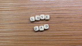 Father Day celebration on wood background top view. The Father Day celebration on wood background top view stock photo