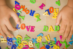 Father Day Royalty Free Stock Photos