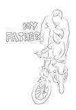 Father day Stock Photography