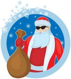 Father Frost with Christmas gifts Royalty Free Stock Image