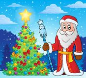Father Frost theme image 4 royalty free illustration